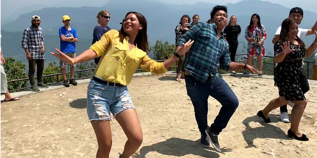 Learn to dance in Pokara Nepal.