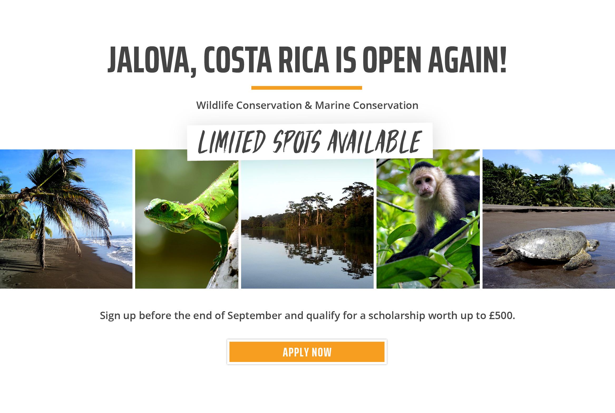 UK Costa Rica Reopening