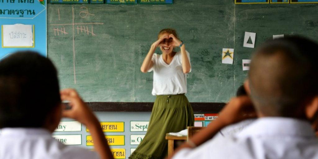 Un cours Tefl vous aidera à voyager à l'étranger.