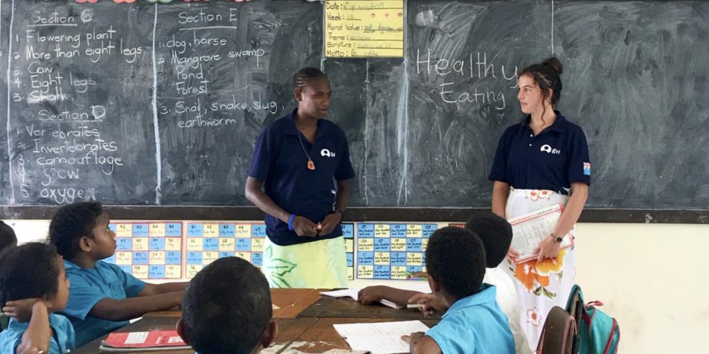 Teach in Fiji as a volunteer