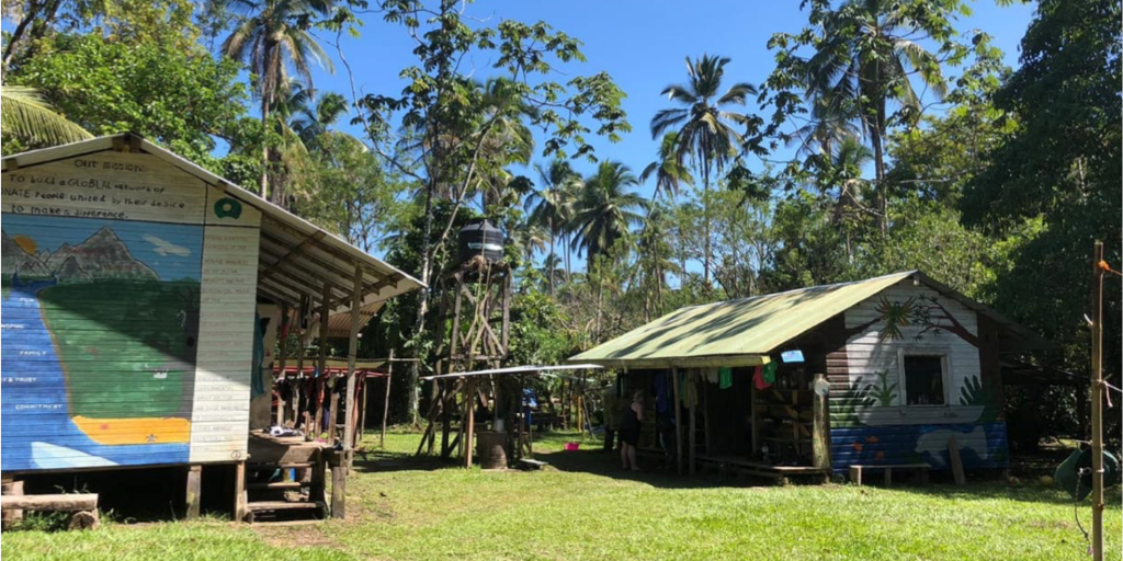 GVI volunteer abroad base in Fiji