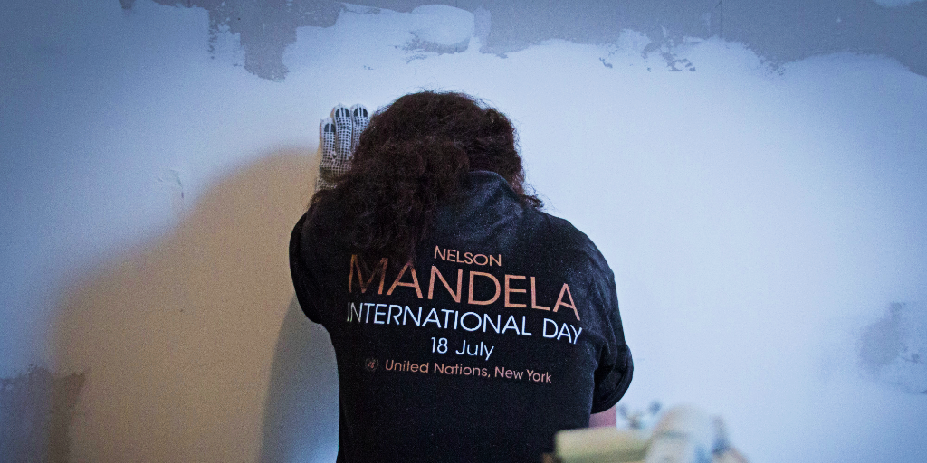 Nelson Mandela day has become an international day.
