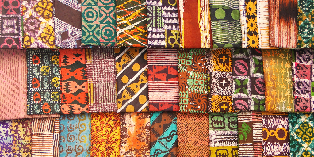 Kente fabric is very popular in Ghanaian culture.